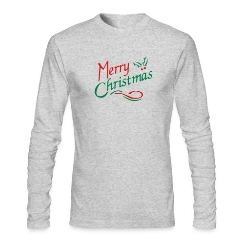 Men's Holiday Long sleeve - Men's Long Sleeve T-Shirt by Next Level