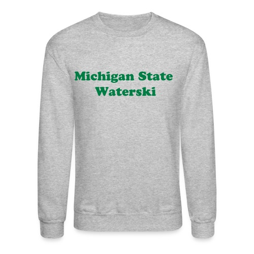 Michigan State waterski sweatshirt - Crewneck Sweatshirt