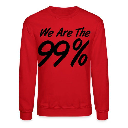 Infinite Swag I.S. (We Are The 99% With Swag) - Crewneck Sweatshirt