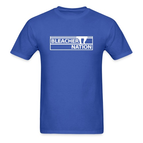 Bleacher Nation Logo Standard Weight T-Shirt (Men's) - Men's T-Shirt