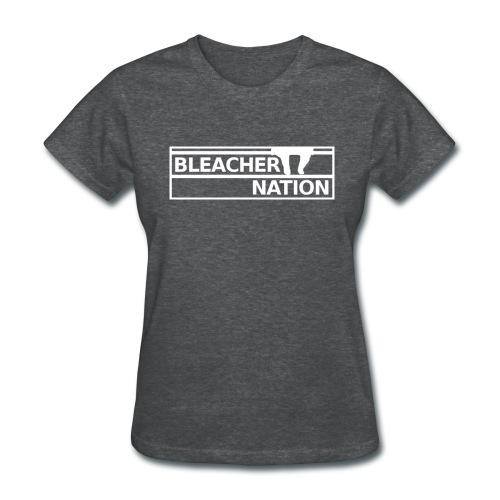 Bleacher Nation Logo Standard Weight T-Shirt (Women's) - Women's T-Shirt