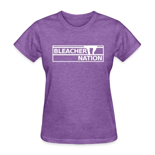 Bleacher Nation Logo Standard Weight T-Shirt (Women's) - Women's T-Shirt
