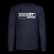 Long Sleeve Shirts ~ Men's Long Sleeve T-Shirt ~ Bleacher Nation Logo
