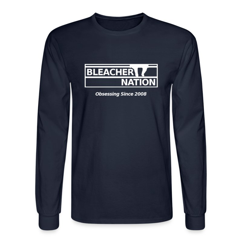 BN - Obsessing Since 2008 - Men's Long Sleeve T-Shirt