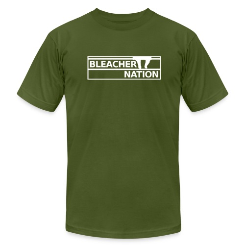 Bleacher Nation Logo American Apparel T-Shirt (Men's) - Men's  Jersey T-Shirt