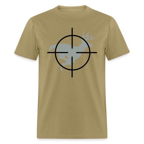 Buck in Crisshairs - Men's T-Shirt