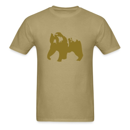 Grizzly Bear - Men's T-Shirt