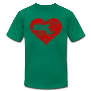 Mass in Heart - Men's T-Shirt by American Apparel