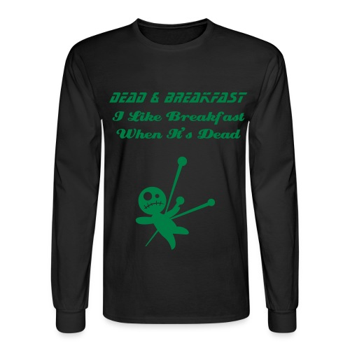 Dead & Breakfast Mans Tee - Men's Long Sleeve T-Shirt