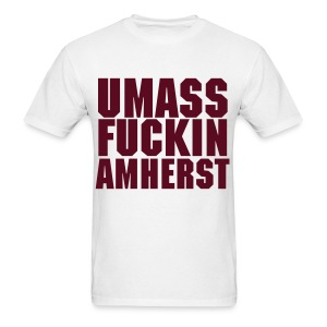 Maroon Lettering - Men's T-Shirt