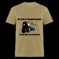 T-Shirts ~ Men's T-Shirt ~ Train Of Thought