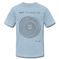T-Shirts ~ Men's T-Shirt by American Apparel ~ What to focus on HUGE - Men's