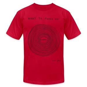 What to focus on HUGE - Men's - Men's Fine Jersey T-Shirt