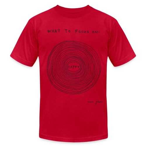 What to focus on HUGE - Men's - Men's  Jersey T-Shirt