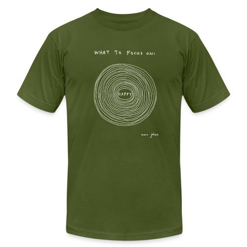 What to focus on - Dark - Men's - Men's  Jersey T-Shirt