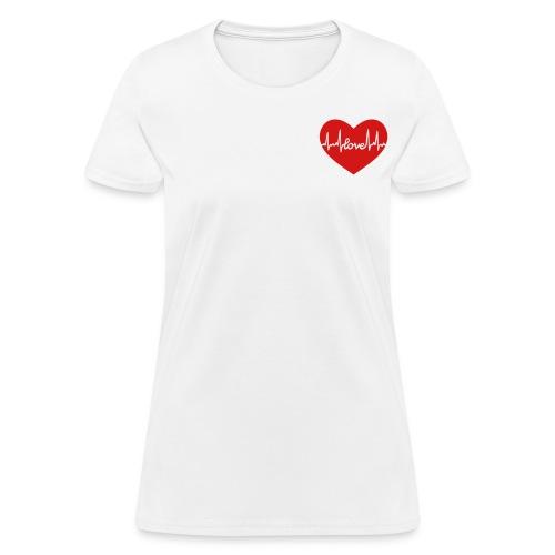 Written in Love - Women's T-Shirt