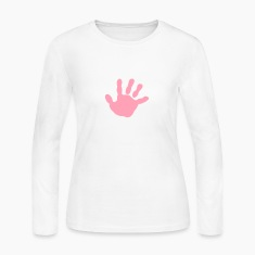 baby - hand - handprint Long Sleeve Shirts