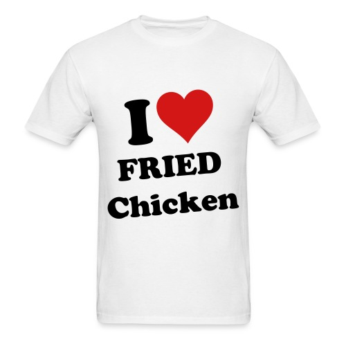 Mens I Heart Fried Chicken - Men's T-Shirt