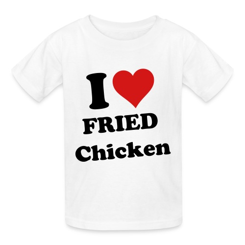 Kids I Heart Fried Chicken - Kids' T-Shirt