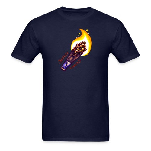 SAFETY TORCH! - Men's T-Shirt