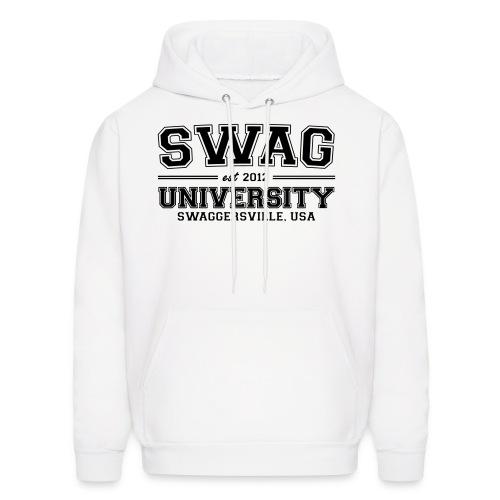Swag university. - Men's Hoodie