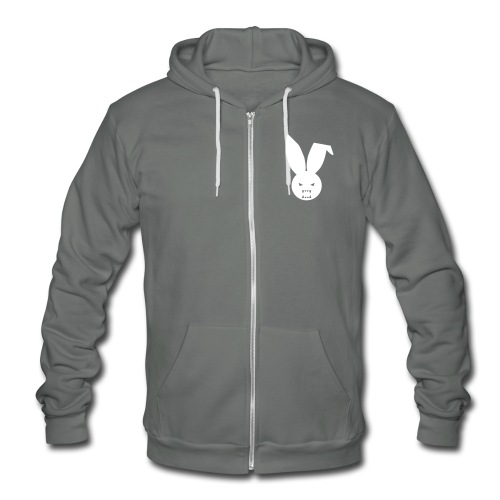 Epic Elite Class - Fleece Hoodie - Grey Zip Up Hoody  - Unisex Fleece Zip Hoodie
