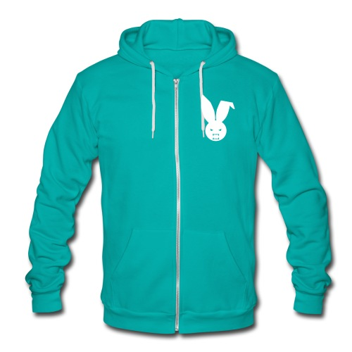 Epic Elite Class - Fleece Hoodie - Teal Zip Up Hoody  - Unisex Fleece Zip Hoodie