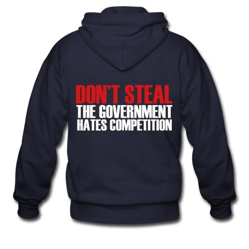 Don't Steal! - Men's Zip Hoodie