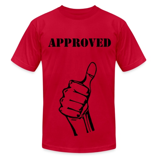Approved - Men's Fine Jersey T-Shirt