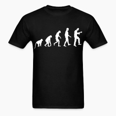 Zombie Evolution - Zombie T-Shirt - Spreadshirt