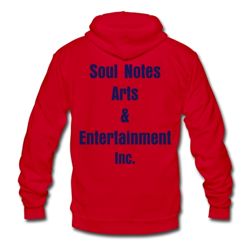 NotedSoul-UNISEX (yelloww/navy) - Unisex Fleece Zip Hoodie