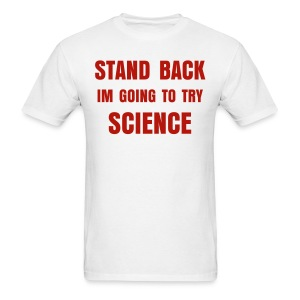 STAND BACK - Men's T-Shirt