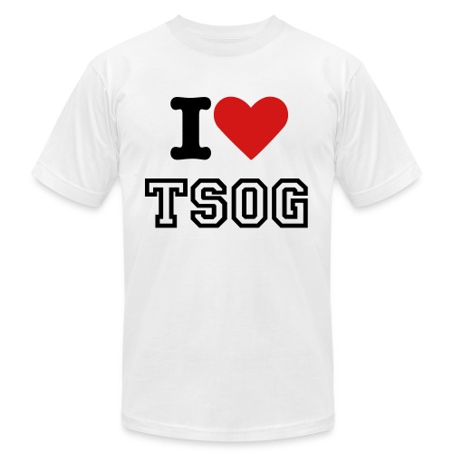 Men's I Heart TSOG Tee - Men's Fine Jersey T-Shirt