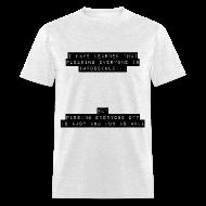 T-Shirts ~ Men's T-Shirt ~ Lesson Learned