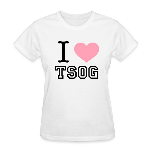 Ladies I Heart TSOG Tee - Women's T-Shirt