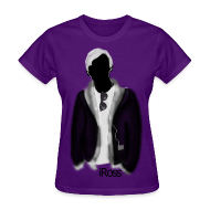 T-Shirts ~ Women's T-Shirt ~ iRoss Grey WOMENS