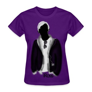 iRoss Grey WOMENS - Women's T-Shirt