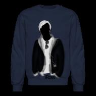 Long Sleeve Shirts ~ Men's Crewneck Sweatshirt ~ iRoss Grey SWEATER