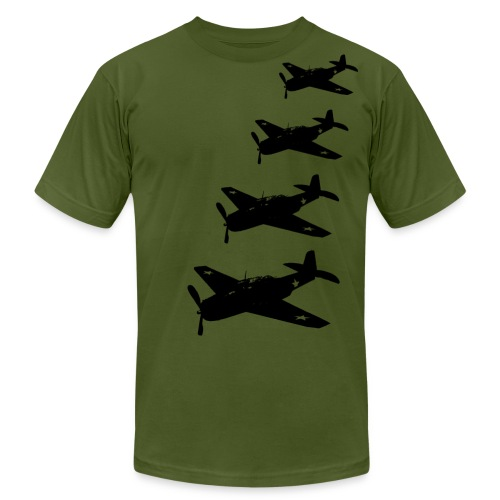 planes - Men's T-Shirt by American Apparel