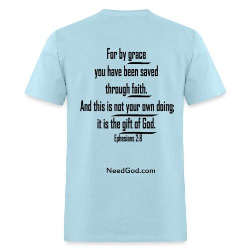 Ephesians 2:8 - Men's T-Shirt