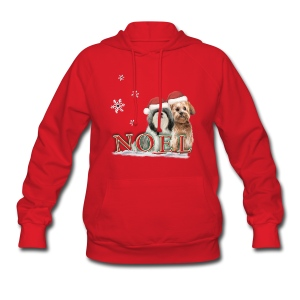 Noel Puppies Christmas Hoodie - Women's Hoodie
