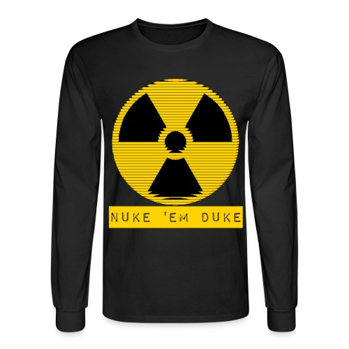 Nuke 'em  - Men's Long Sleeve T-Shirt