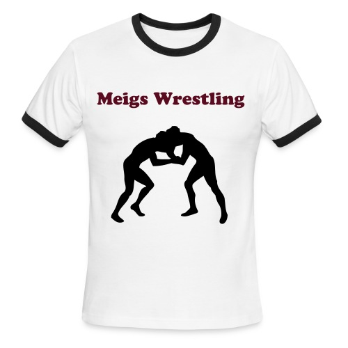 Wrestling T-shirt - Men's Ringer T-Shirt