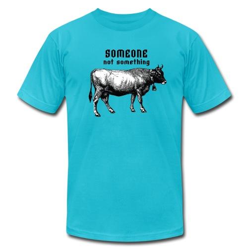 someone not something mens - Men's Fine Jersey T-Shirt