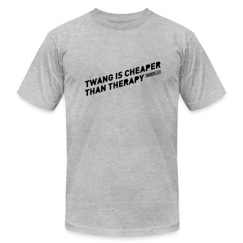 Twangville Slogan Tee - Men's Fine Jersey T-Shirt
