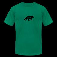 T-Shirts ~ Men's T-Shirt by American Apparel ~ Twangville Fox Tee