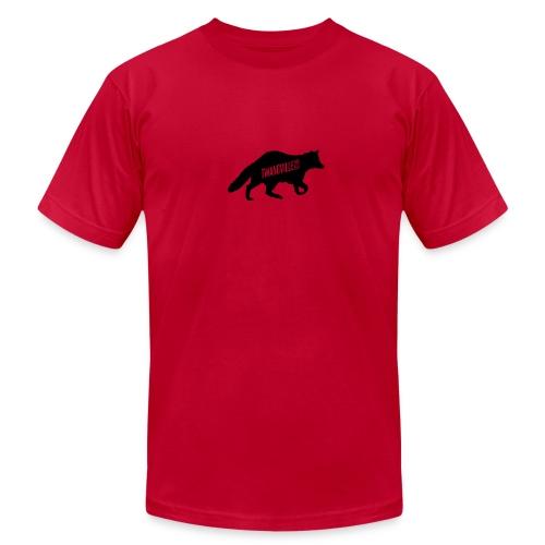 Twangville Fox Tee - Men's Fine Jersey T-Shirt