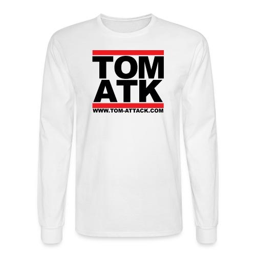 Tom-Attack DMC Men's Long Sleeve Tee White - Men's Long Sleeve T-Shirt