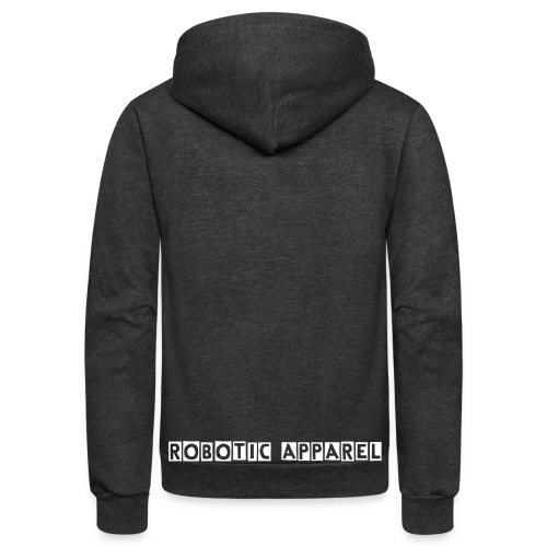 Robotic Apparel Zip Up - Unisex Fleece Zip Hoodie