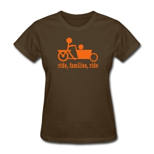 Women's Bakfiets Ride Families - Women's T-Shirt